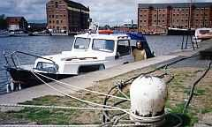 Janet B at Gloucester Docks